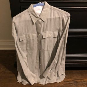 Grey Banana Republic shirt